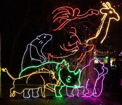 2 For 1 Tickets Phoenix Zoolights Srp Nights At Srp Zoo Lights