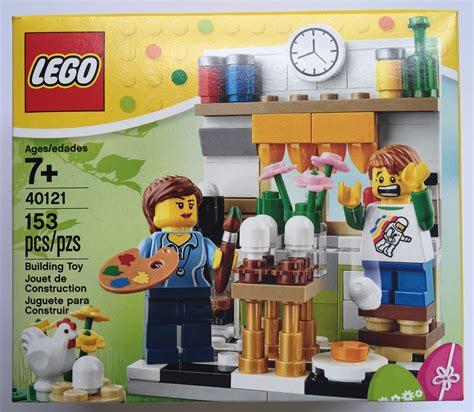 Sale Lego 40121 Painting Easter Eggs Sip067 lego painting easter eggs 40121 released unboxing