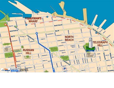 san francisco map pier 33 pier 33 san francisco map