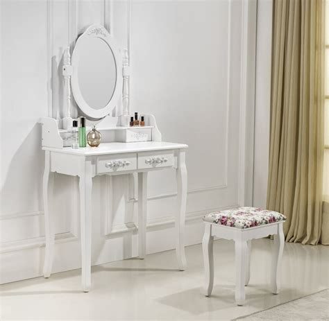 Coiffeuse A Maquillage by Tr 232 S Coiffeuse Table De Maquillage Avec 2 Tiroirs