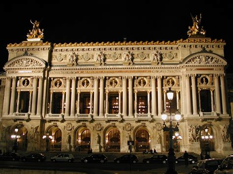 paris opera house in a nice part of paris is an opera house a formerly closed opera house still closed if your