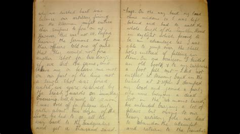 bbc news 1915 ww1 diary gives account of second christmas truce