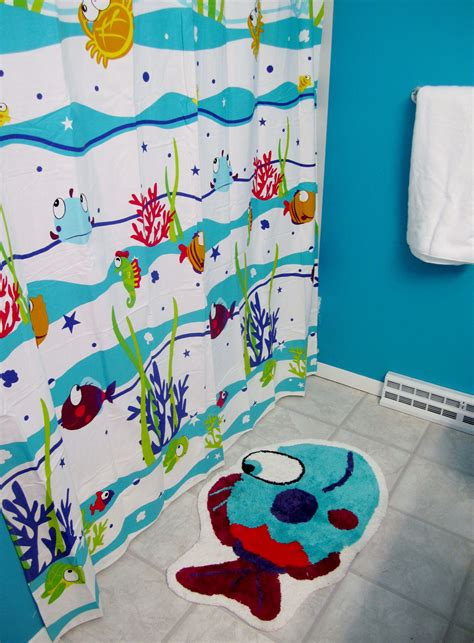 kid bathroom shower curtains kid bathroom shower curtains living room decoration