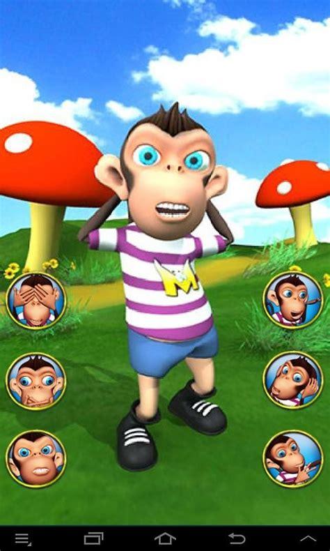 talking monkey voice changer  android app     talking monkey voice