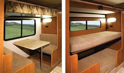 Rvs With Bunk Beds Bunk Bed Rv Dinette Cer Ideas Cer Custom Bunk Beds And Small Cers