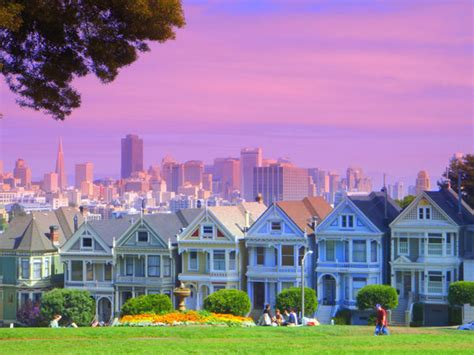Modern Style Homes by Painted Ladies Victorian San Francisco Homes