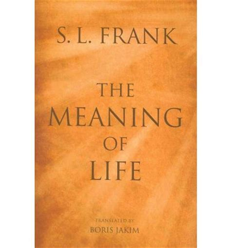 define biography exle find the meaning of life by s l frank 9780802865274 pdf