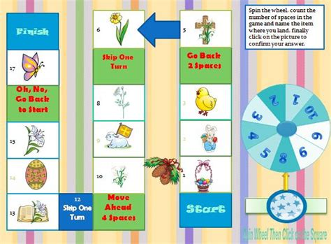 printable easter board games easter interactive boardgame