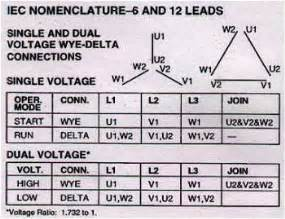 9 lead motor connection diagram 9 wiring diagram and circuit schematic