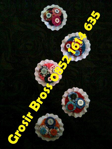 Bros Kain Bunga Kancing grosir bros kain perca bross kain perca edisi maret 2012
