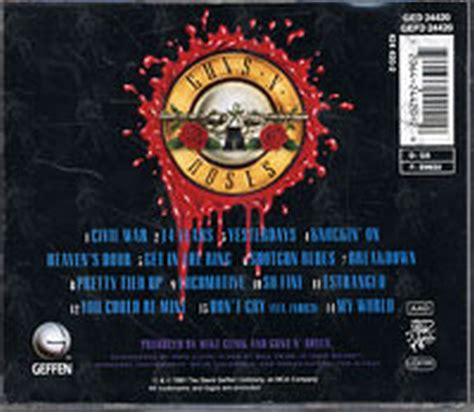 download guns n roses use your illusion 1 mp3 guns n roses use your illusion ii album cd rare records