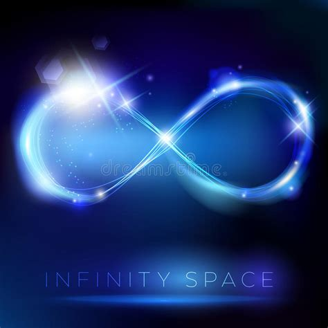 the light that shines through infinity zen and the energy of books blue light infinity symbol with lights effects stock