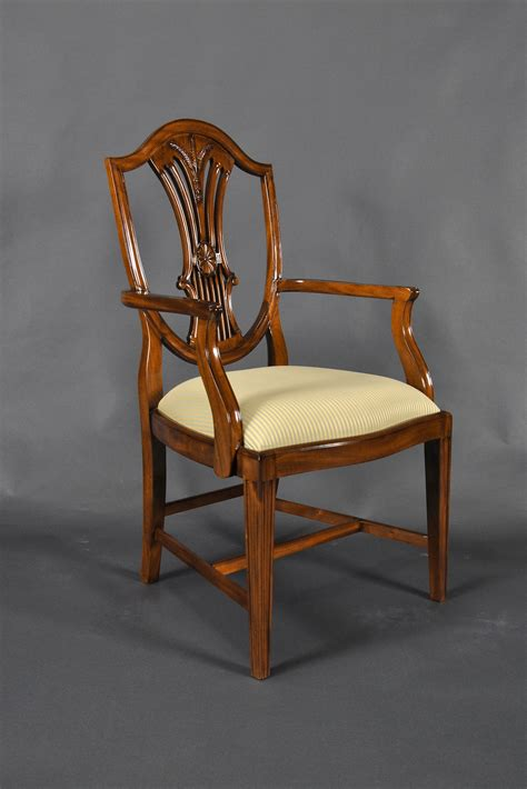 shield back dining room arm chair ndrac057