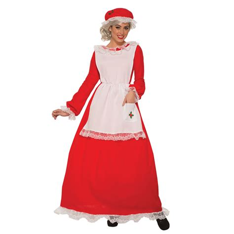 buy traditional mrs claus adult costume