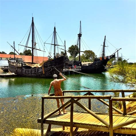 christopher columbus boat found the boats of christopher columbus huelva spain by findery