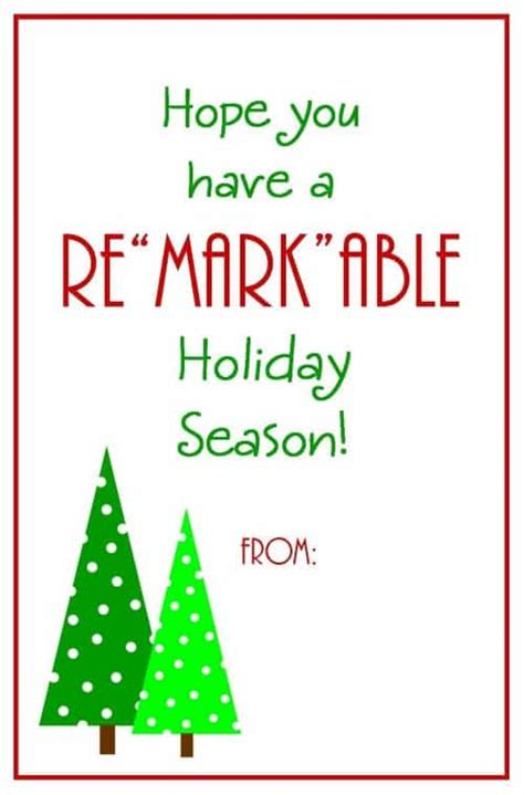 printable christmas gift tags for teachers teacher christmas gift markers with free printable card