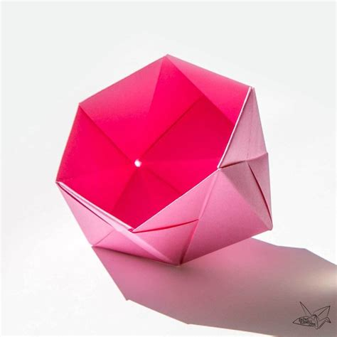 Easy Origami Bowl - 55 best origami sonobe images on modular