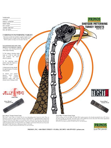 printable life size turkey head target preparing youth hunters for their first turkey hunt