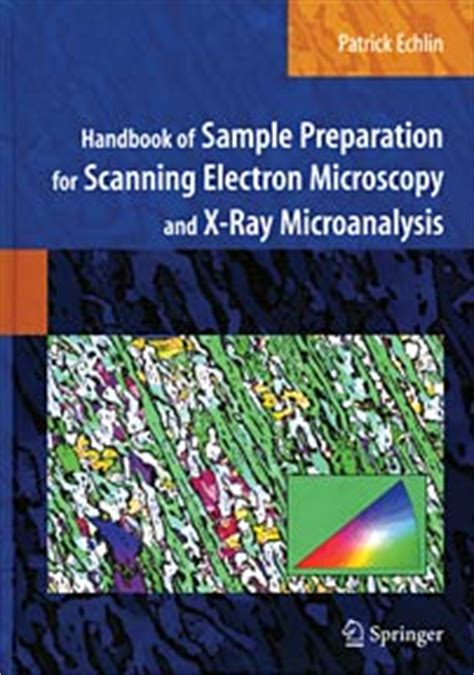 scanning electron microscopy and x microanalysis books microscopy books