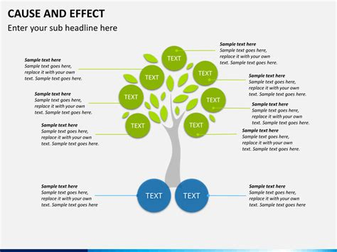 cause and effect diagram powerpoint template sketchbubble