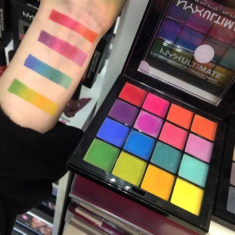 Nyx Brights nyx makeup nyx eyeshadow nyx colour nyx bright colour