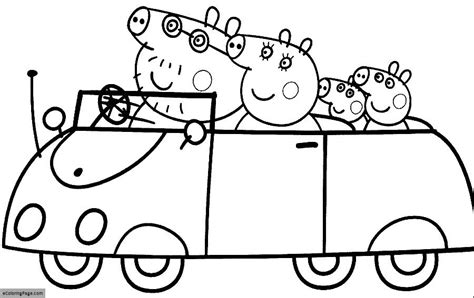 free peppa pig coloring pages to print free coloring pages of peppa pig