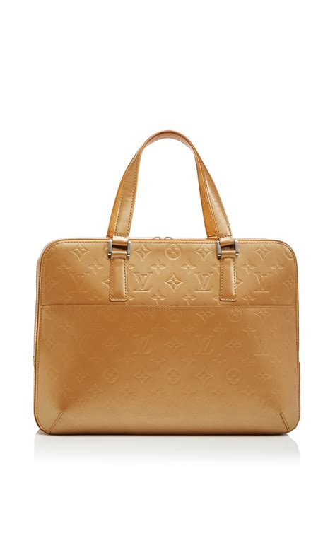 Bag Lv Monogram Brown Kode 9981 lyst louis vuitton ambre monogram mat malden bag in brown