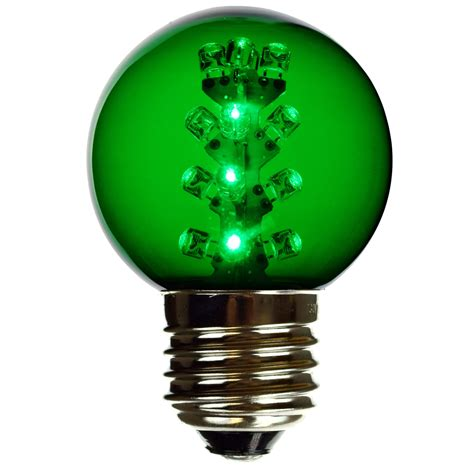 Green G50 Led Light Bulbs E27 Led Globe Light Bulbs