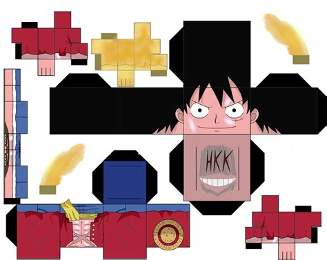 One Papercraft - luffy gear second by hollowkingking on deviantart