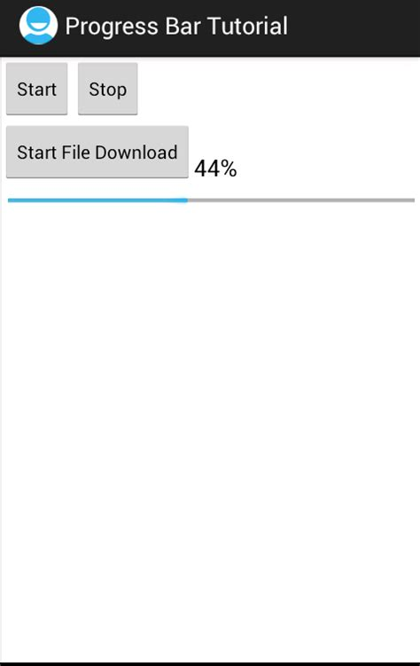 android progress bar android 筆記 android progress bar exle part 1