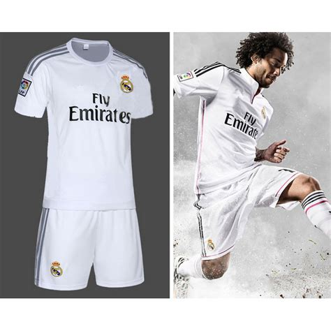 Baju Bola Real Madrid Jersey Sepakbola Real Madrid No 11 Bale Size L White