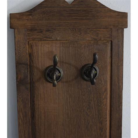 appendiabiti da ingresso a parete appendiabiti da parete attaccapanni 6 ganci legno marrone