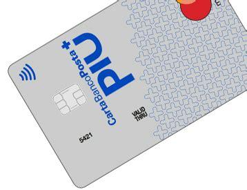 carta banco posta piu carta di credito bancoposta