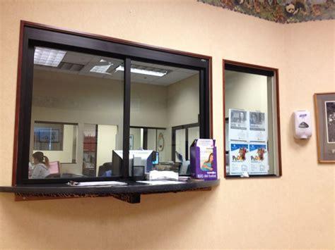 Office Desk In Front Of Window Front Desk Window Yelp