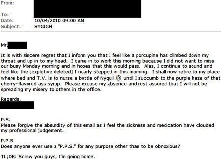 13 leave letters so funny they ll get you fired either