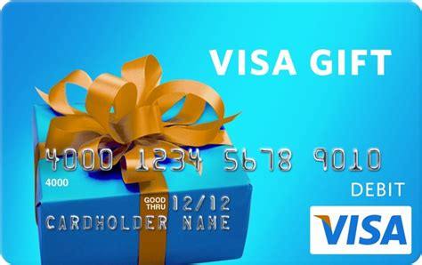 Who Accepts Visa Gift Cards - visa gift cards