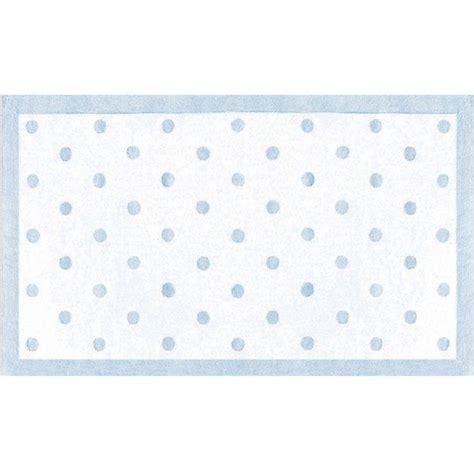 blue polka dot rug polka dots light blue rug
