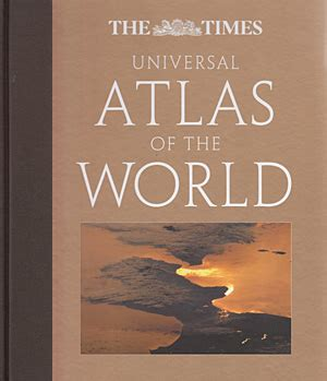 libro the world atlas of librer 237 a desnivel the times universal atlas of the world