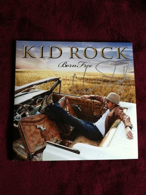 charitybuzz autographed kid rock born  vinyl