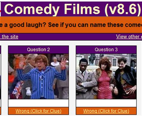 comedy film quiz questions and answers quizardry answers comedy films v8 6