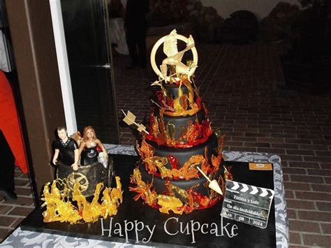 cakes  fire  winning hunger games cakes
