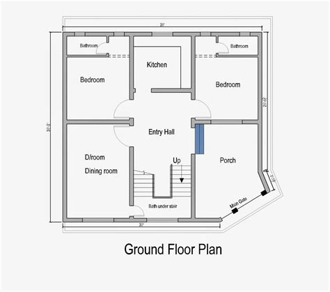 Architect Home Design Floor Plan Layout Pk | home plans in pakistan home decor architect designer