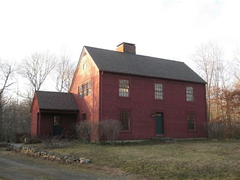 saltbox colonial new antique colonial saltbox style residence pound ridge