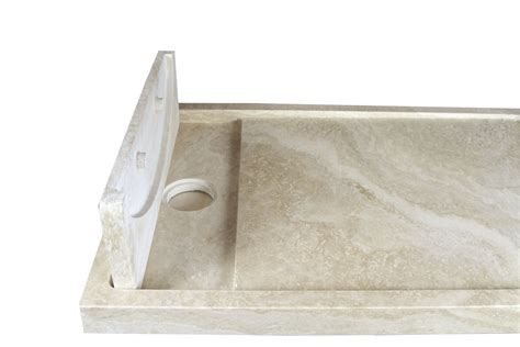 piatto doccia a scomparsa piatto doccia in travertino con scarico a scomparsa