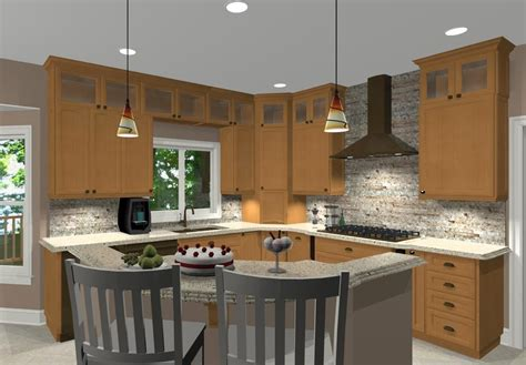 kitchen designs for l shaped rooms home design cool t shaped kitchen island on ideas with