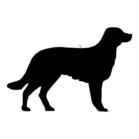 puppy silhouette silhouette drawing 08 free stock photo domain pictures