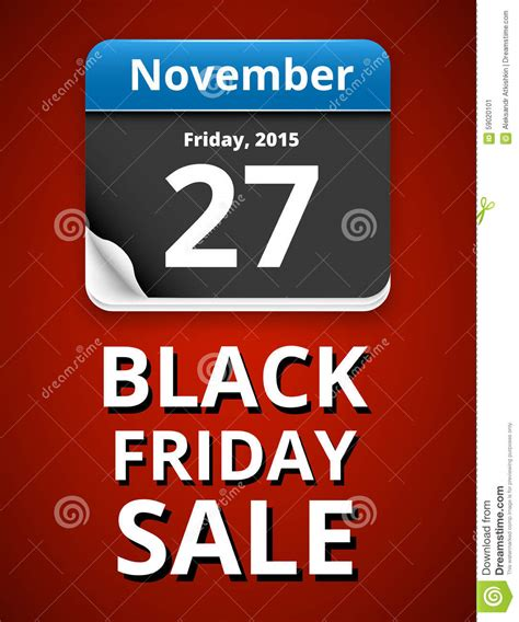 Friday Date by Black Friday Stock Vector Image 59020101