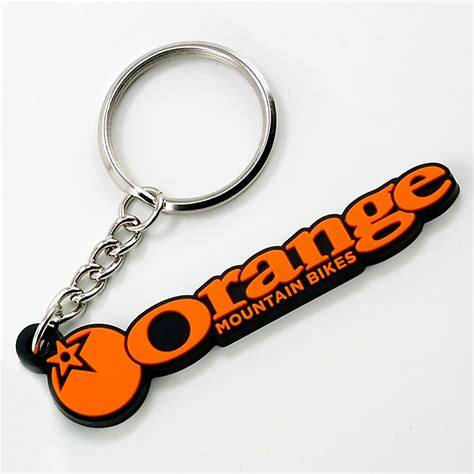 orange bikes logo keyring orange mountain bikes