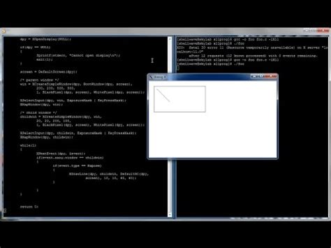 tutorial linux c xlib programming in c and linux tutorial 01 creating