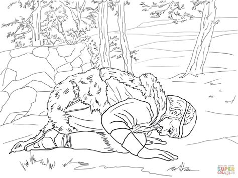 free bible coloring pages elijah elijah prays for coloring page free printable
